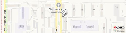 Монетка на карте Осинников
