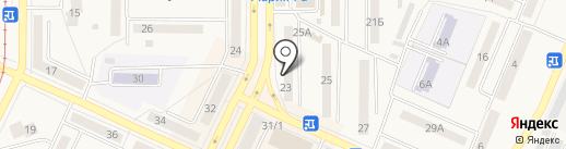Золотой жук на карте Осинников