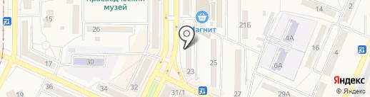 МегаФон на карте Осинников