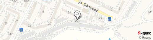 Шиномонтажная мастерская на карте Осинников