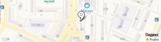 Солнышко на карте Осинников