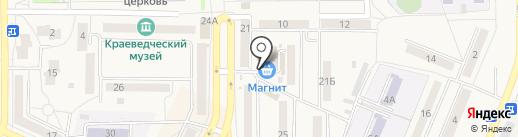Магазин корейских салатов на карте Осинников