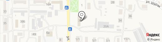 Осинниковский горнотехнический колледж на карте Осинников