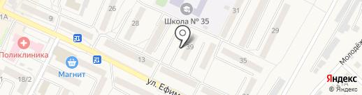 Бюро мастеров на карте Осинников