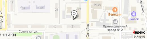 Осинниковский Клуб Вольной Борьбы, АНО на карте Осинников