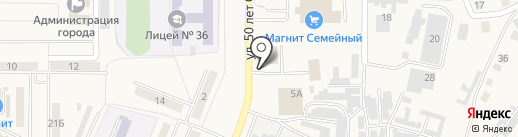 Tuman на карте Осинников