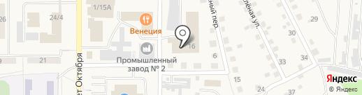 Рубин на карте Осинников