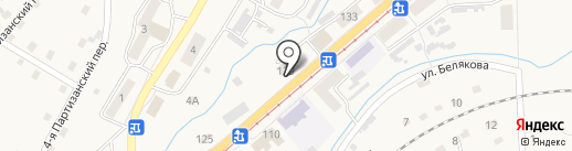 Эскулап на карте Осинников