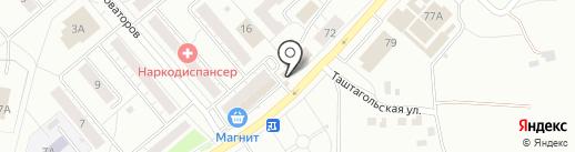 Пивная №1 на карте Новокузнецка
