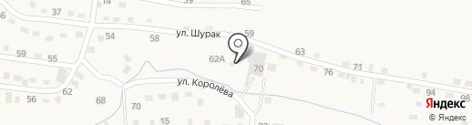 Гермесстрой на карте Осинников