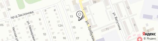 Магазин автошин и дисков на карте Новокузнецка