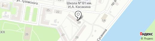Киберплат на карте Новокузнецка