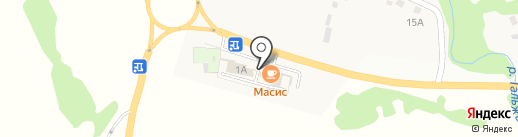 Аквапро42.рф на карте Атаманово