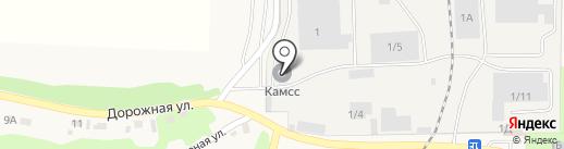 КАМСС-сервис на карте Тальжино