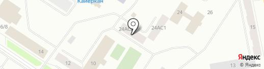 Нотариус Зайцева Ю.А. на карте Норильска