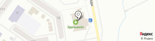Ювелирная мастерская на ул. Победы на карте Норильска