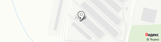 Скат на карте Норильска