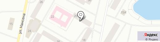 Каскад-Авто на карте Норильска