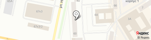 Ярус на карте Норильска
