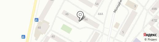 Ортум на карте Норильска