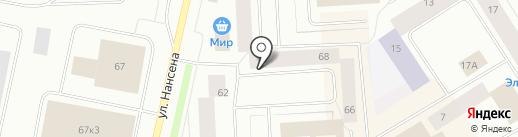 Оптово-розничный продовольственный магазин на карте Норильска
