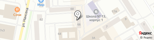 Caramel by Татьяна Козаева на карте Норильска