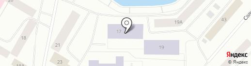 Средняя общеобразовательная школа №16 на карте Норильска