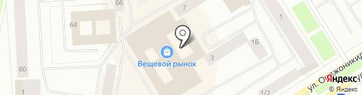 Купидон на карте Норильска