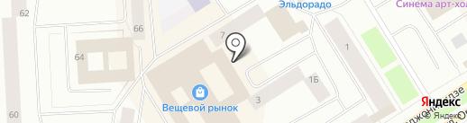 Юлия на карте Норильска