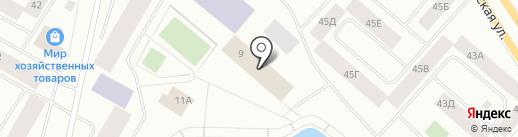Норильский центр безопасности движения на карте Норильска