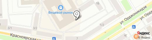 ЭЛИТА на карте Норильска