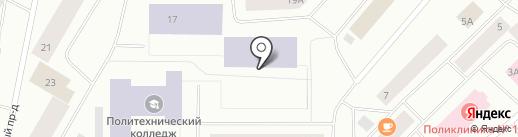 Средняя общеобразовательная школа №23 на карте Норильска