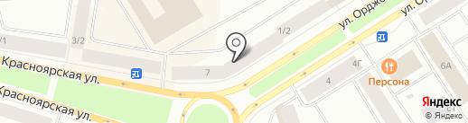 Максимка на карте Норильска