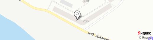 СТС-Норильск на карте Норильска