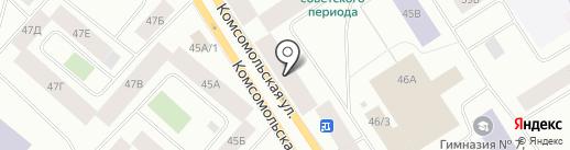 Ермак на карте Норильска