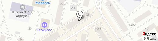 Simona-nails на карте Норильска