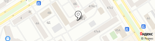 Мультимарка на карте Норильска