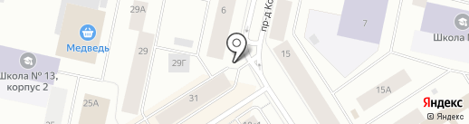 ЧИП и ДЕЙЛ на карте Норильска