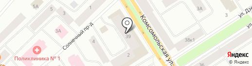 Оргтехсервис на карте Норильска