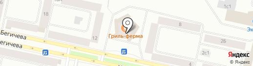 МАН на карте Норильска