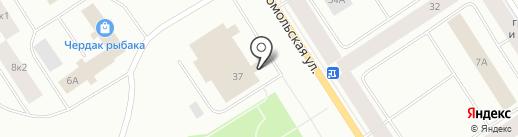 Магазин мужской верхней одежды на карте Норильска