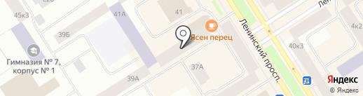 ФармаЛюкс на карте Норильска