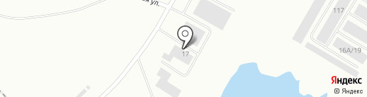 Автокорея на карте Норильска