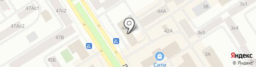 Норильск-Телеком, АО на карте Норильска
