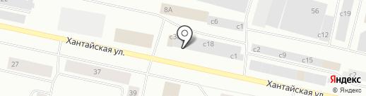 Sikkens на карте Норильска