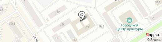 Отдел дознания на карте Норильска