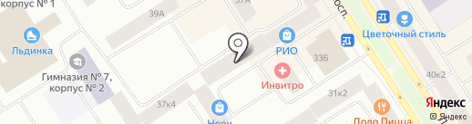 Экспромт на карте Норильска