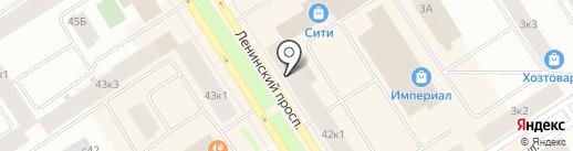 Сеть магазинов на карте Норильска