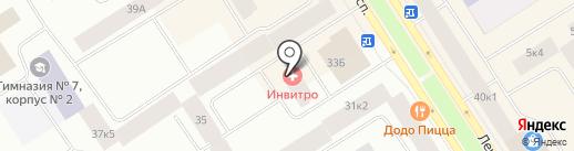 Норильский инспекторский участок на карте Норильска