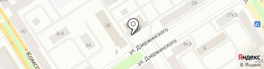 SushiЛЮКС на карте Норильска